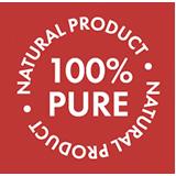 100% čistý přírodní produkt
