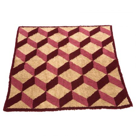 Wool Carpet - Escher purple