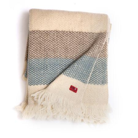 Wool blanket Karandila Double size V