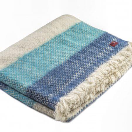 Wool blanket Karandila Double size I