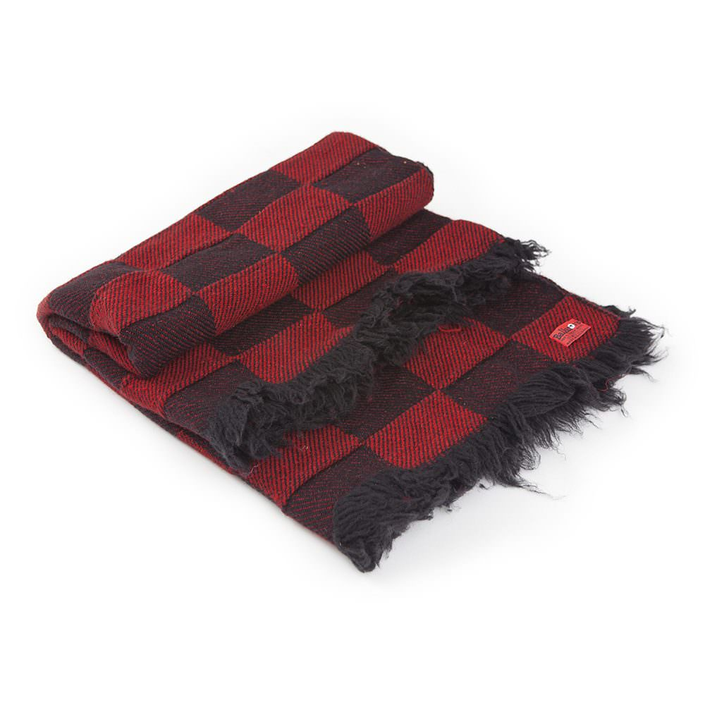 Checkered Wool Blanket Rodopa XI
