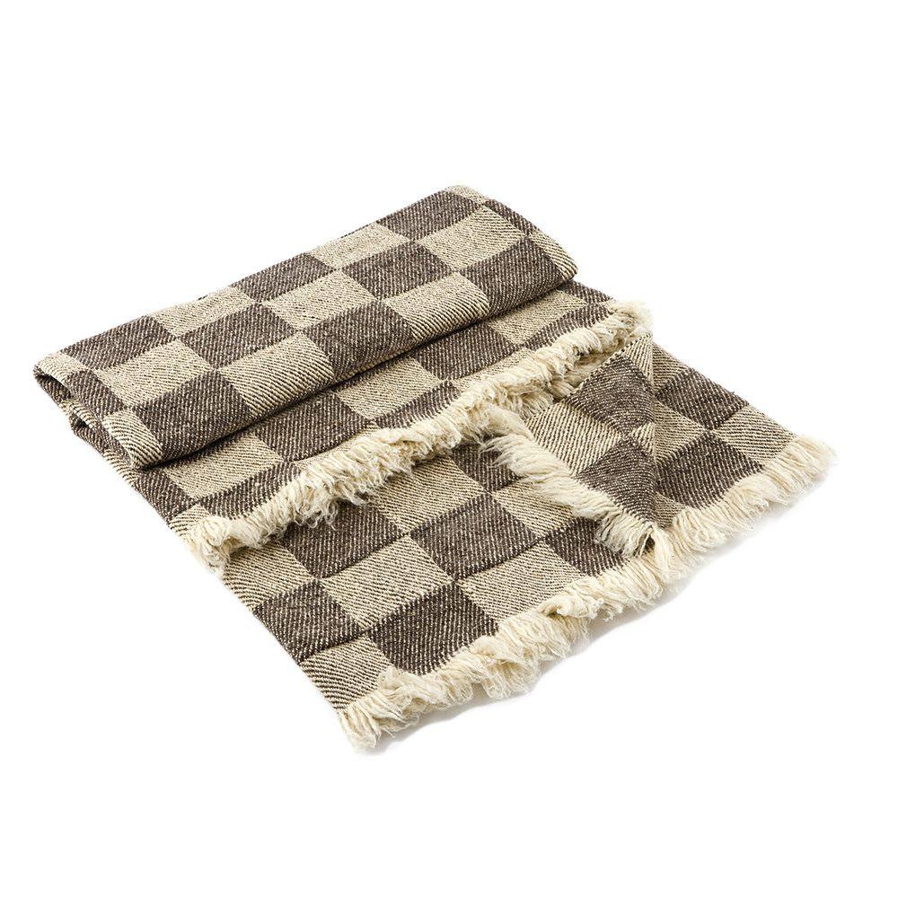 Checkered Wool Blanket Rodopa IV