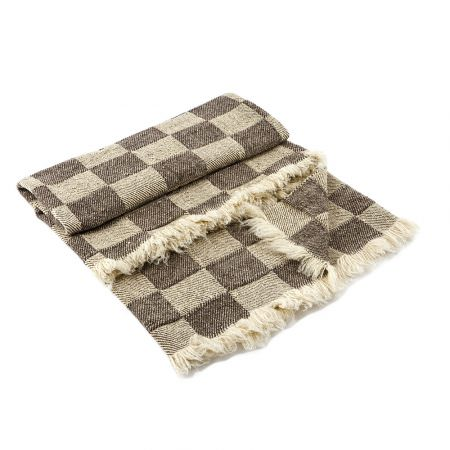 Checkered Wool Blanket Rodopa IV