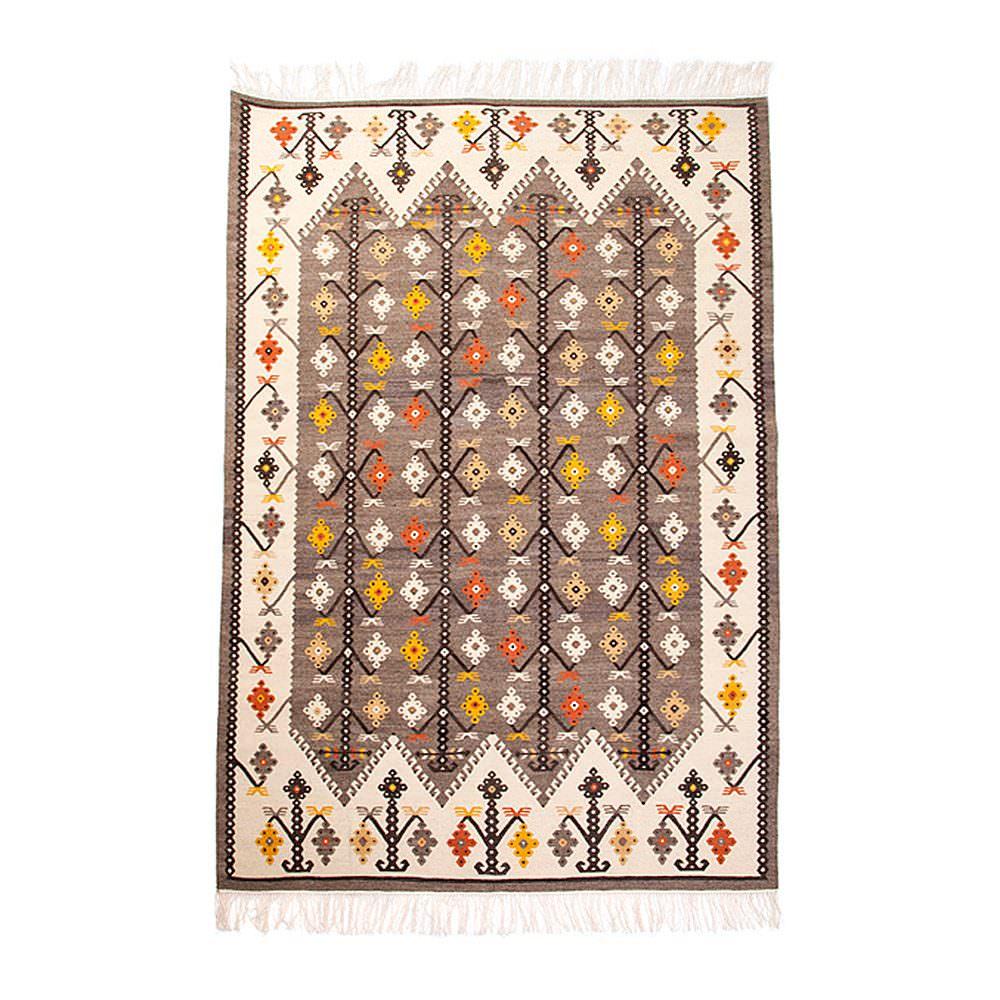 Kilim Wool Rug VIII - Medallion
