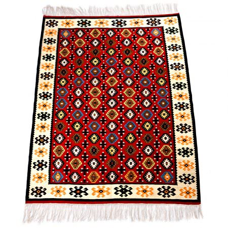 Kilim Wool Rug  XVI - Little Bombs
