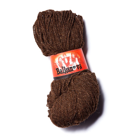 Wool Yarn - Brown Wool