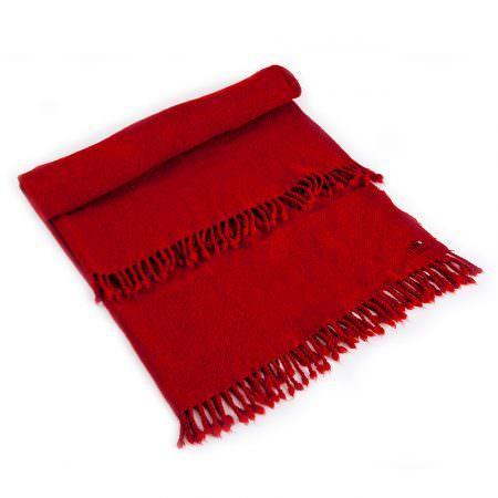 Vlněná deka Perelika XXII červená