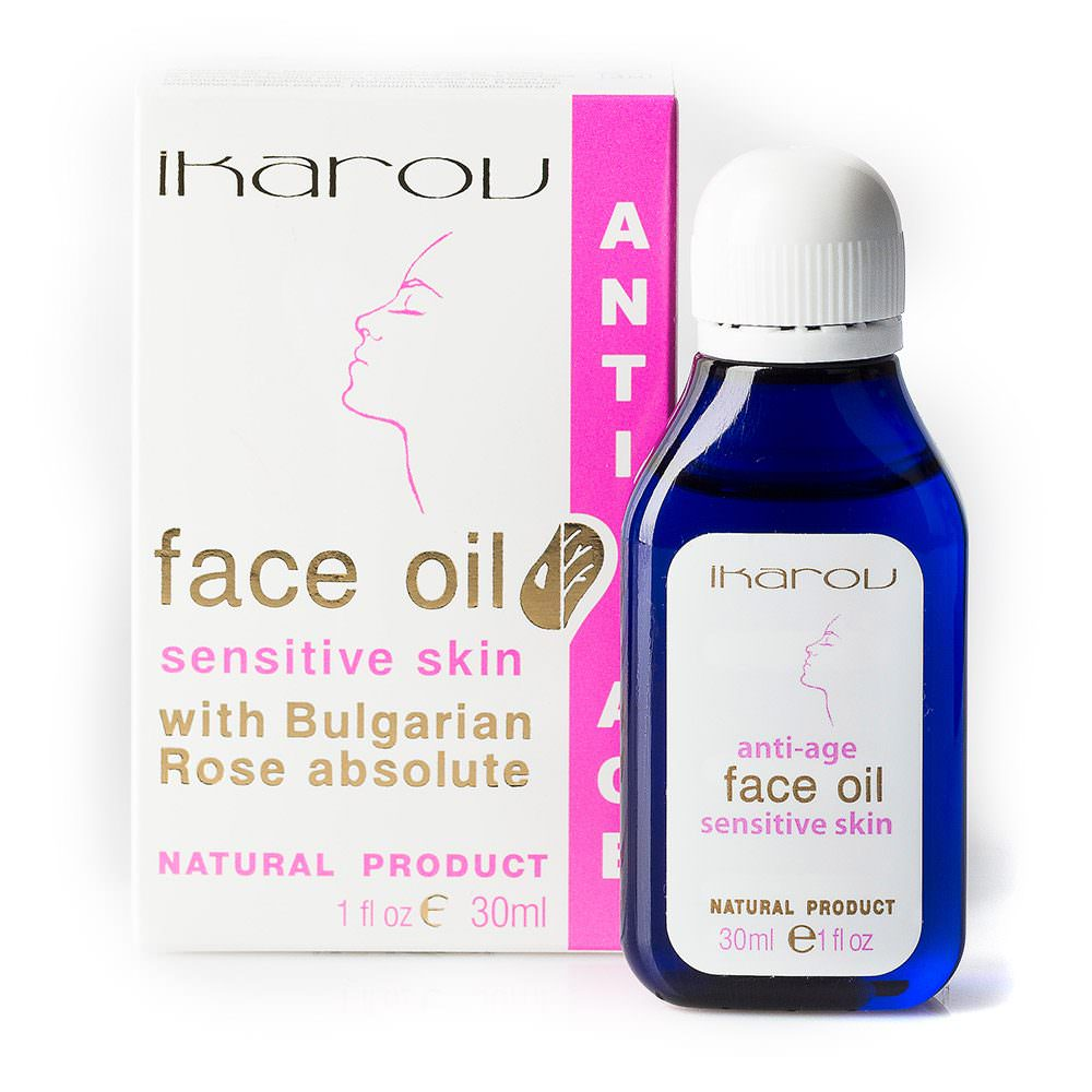 Pleťový olej anti-age pro citlivou pleť