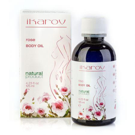 "Ikarov Body massage oil ""Rose"""