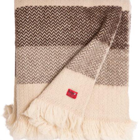 Wool blanket Karandila Double size III