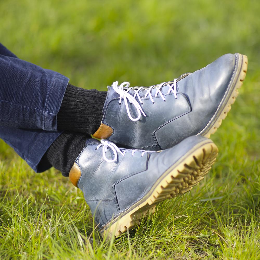 Socks 100% wool, unicolour elastic knitwear, health