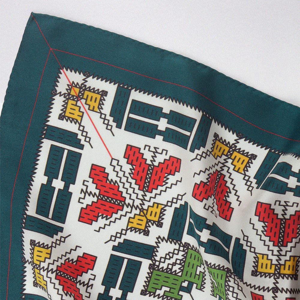 Hedvábný šátek I