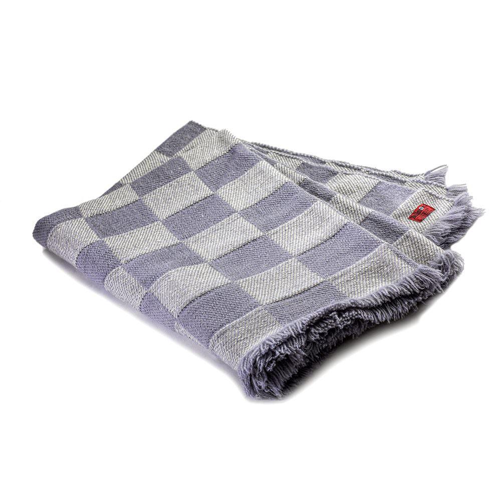 Checkered Woollen blanket Rodopa XIII