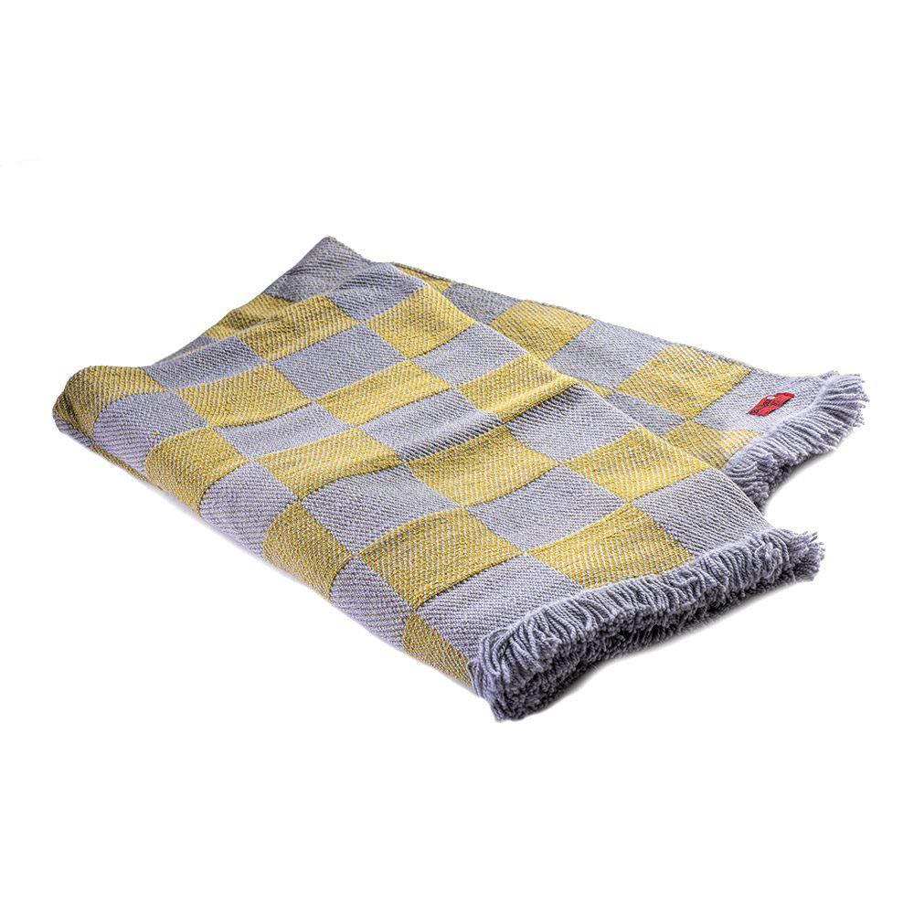 Checkered Woollen blanket Rodopa XV