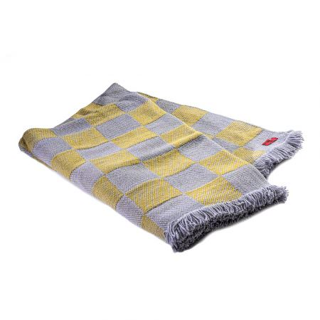 Checkered Woollen blanket Rodopa XV