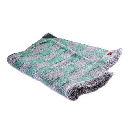 Checkered Woolen Rodopa blanket XVI
