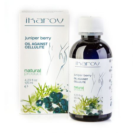 Anti-cellulite massage oil 'Juniperberry'
