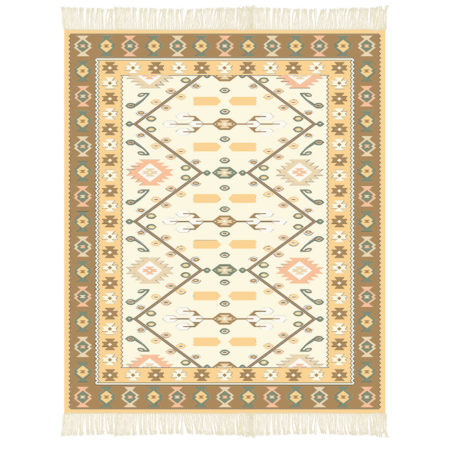 "Pattern - Kilim ""Magical Grapevine"""