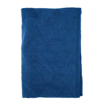 Merinoschal - blau