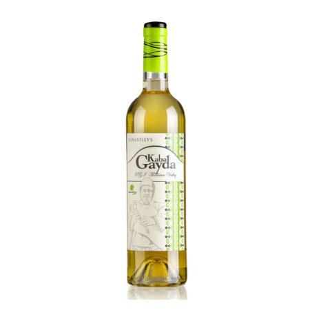 Yamantiev . Kaba Gayda white wine