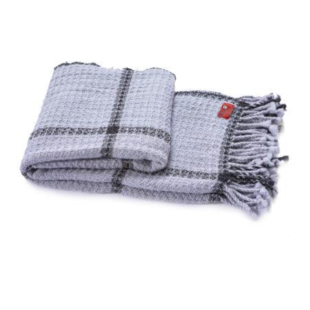 Vlněná deka Kaliakra merino IV fialová