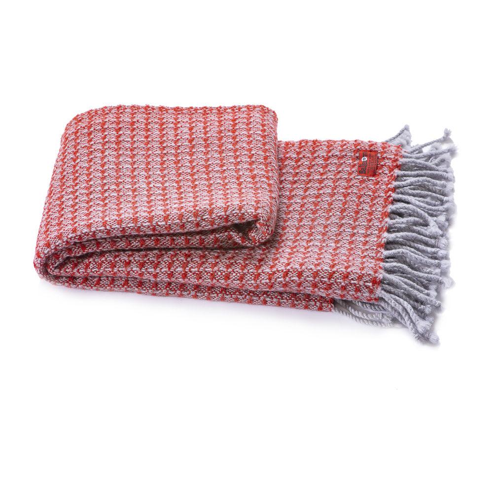 Wolldecke Kaliakra merino III - rot