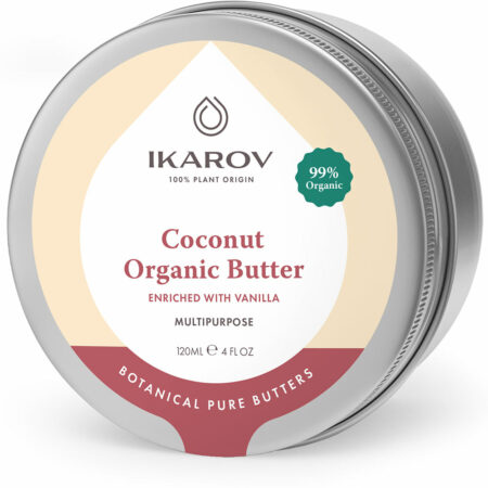 Coconut Organic Body Butter enriched with vanilla