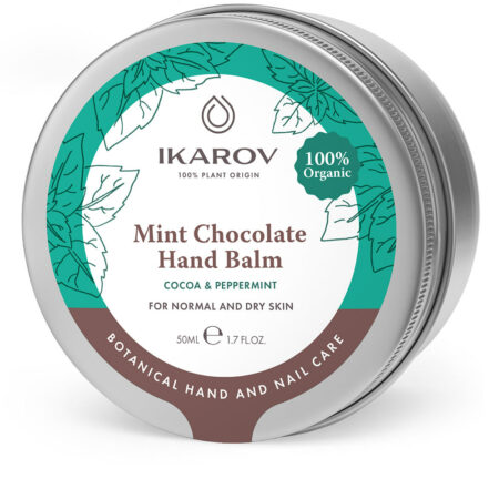 Organic Mint Chocolate Hand Balm for normal and dry skin