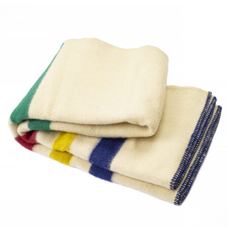 Thick Wool Blanket Rainbow I B – rainbow B