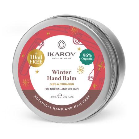 Zimní přírodní balzám na ruce s výtažkem ze skořice