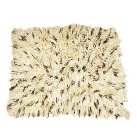 Ručně vázaný koberec Chalište ze světlé a tmavé vlny V