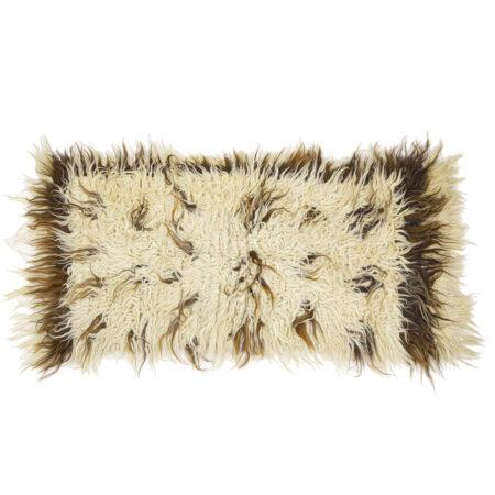 Ručně vázaný koberec Chalište ze světlé a tmavé vlny IV