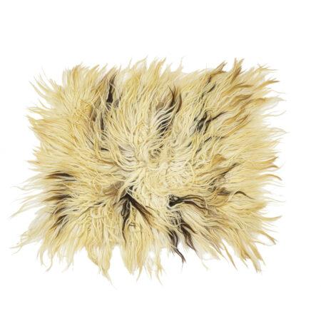 Chalischte – Weiße und Dunkelbraune Wolle