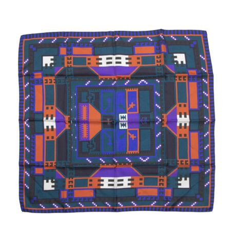 Hedvábný šátek X
